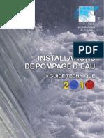 STATIONS DE POMPAGE