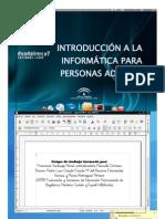 Introducción A La Informática Para Personas Adultas (Parte l)