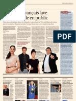 Le Cinema Francais lave son linge sale en public