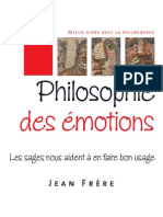 La Philosophie Des Emotions