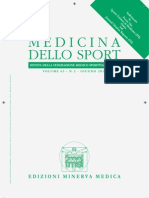 Ultra Short Term Heart Rate Recovery . Medicina Dello Sport 2010