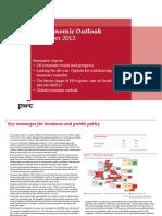 Uk Economic Outlook November 2012 Summary