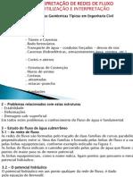 Aplicaçoes e utilizações de rede de fluxo