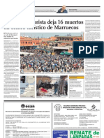 atentado terrorista de marruecos