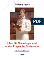 The Foundations and Concerning Questions of Stalinism 2009