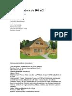 casa de madera de 104 m2