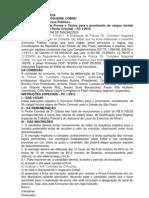 Edital PCSP