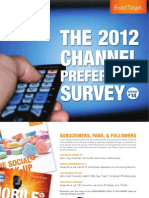 The 2012 Channel Preference Survey
