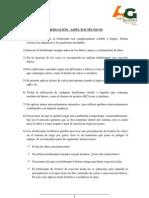FERTIGACION - ASPECTOS TECNICOS