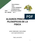 ENSAYO PRINCIPIOS FILOSÓFICOS DE LA FISICA