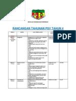 Rancangan Tahunan Psv t4 2013 Original