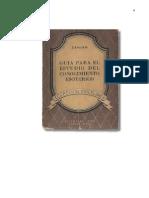 119197382 Zaniah Guia Para El Estudio Del Conocimiento Esoterico