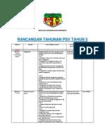 Rancangan Tahunan Psv t5 2013 Original