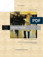 Revista ÓPERA PRIMA NÚMERO 7, AÑO 2012