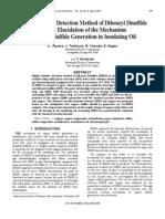 IEEE Highly Sensitive Detection Method of Dibenzyl Disulfide