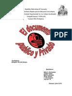Documento Publico y Privado