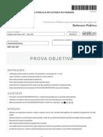 Prova DPE-PR FCC tipo 003