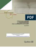 Guide PDF HTML