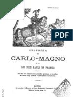 Historia de Carlo-Magno y de Los Doce Pares de Francia