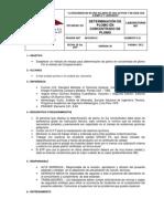 001 Estandares Determinacion de Plomo en Concentrado Plomo