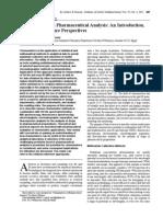 chemometrics and pharmaceuticals