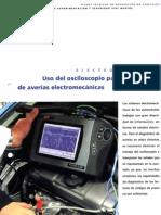 Uso del osciloscopio para la detección de averías electromecánicas