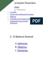1 La Información financiera