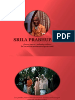 SRILA PRABHUPADA-Meet Someone Extraordinary-English and Spanish