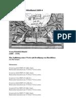 Auflistung Haendel Werke Mit Blockfloete