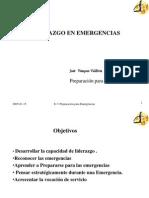 LIDERAZGO EN EMERGENCIAS