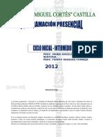 Programacion Presencial 2012-Ciclo Inicial Intermedioactitudes Emp
