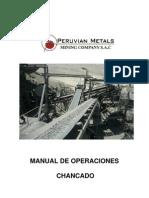 Manual de Operaciones Chancado