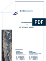 First Telecom Binder en Profile Ref Projects