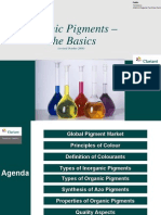 Organic Pigments – The Basics - SII - Dec 2008