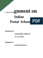 Postal Schemes. (2)