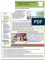 NAMHHR E-Newsletter Issue(June-Oct 2012)
