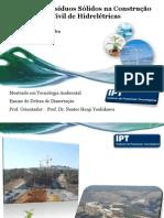 Gestão de Resíduos Sólidos na Construcão de Hidrelétricas