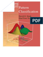 Pattern classification manual