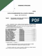 PESCARA AREA DI RISULTA - DELIBERA 1043 28-12-2012