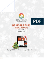 How to build website for mobile with joomla template