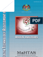 insulin report