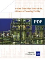 Real-Time Evaluation Study of the Multitranche Financing Facility