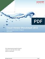 Cloud Vendor Benchmark 2012 - Exec Summary