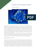 a crise économique européenne