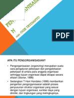 Pengorganisasian (PPT Manajemen 1)