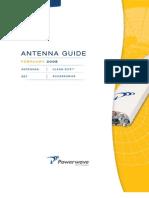Powerwave February 2008 Antenna Guide