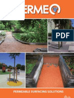 PERMEO - Permeable surfacing solutions