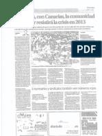 Balears, con Canarias, la comunidad que mejor resistirá la crisis en 2013 (con valoraciones del presidente de PIMEM, Jaume Xavier Roselló)