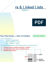 Chapter 08-Pointers and Linked Lists