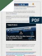 Descarga Gratis Authority Pro Solo Para Vendedores de Exito en Internet